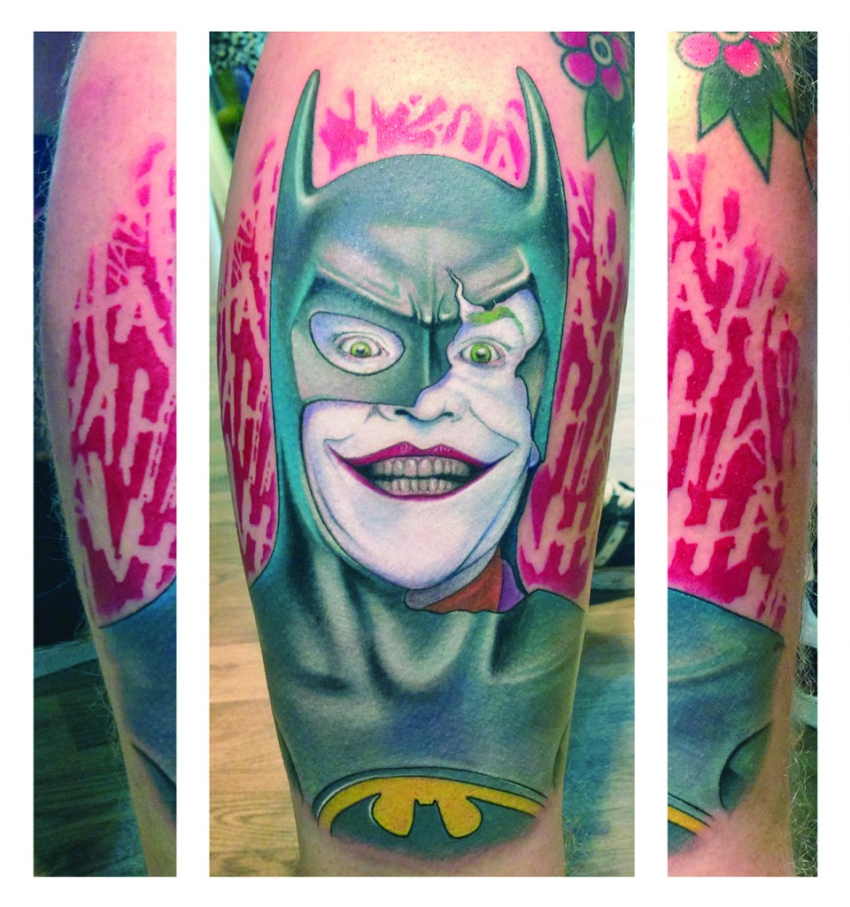 Supervillain - Joker Batman copy
