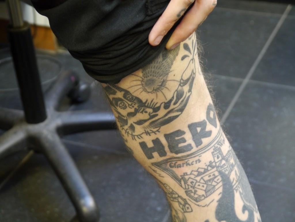 Devil tattoo by Matty D'Arienzo