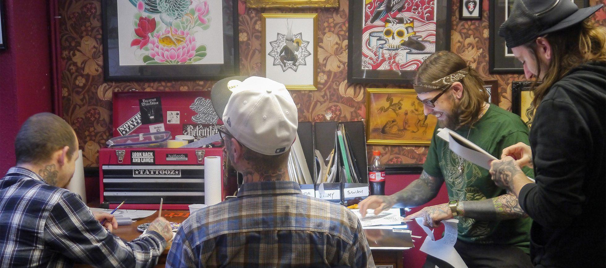 e22471576 Sacred Electric Paint Night | Nine Mag | Online Tattoo Magazine