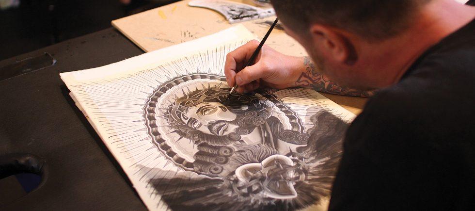 Swansea Tattoo Co. Paint Night