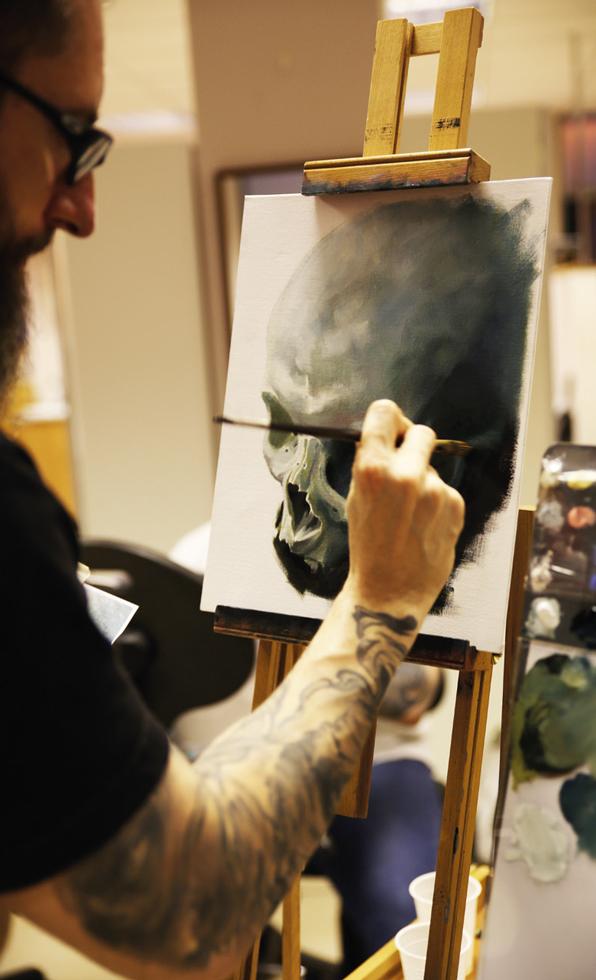 Painting Night Tutorial Immortal Ink 4