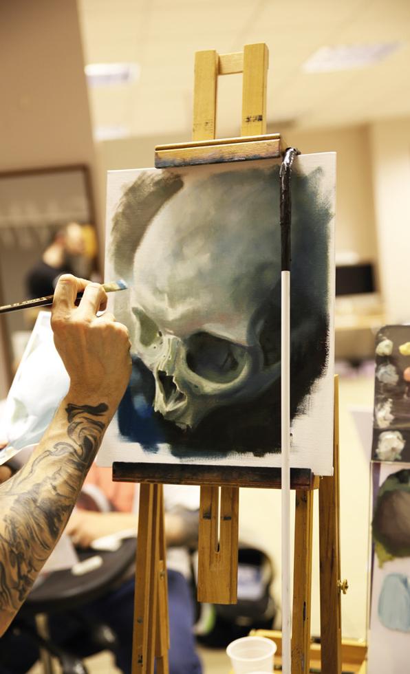 Painting Night Tutorial Immortal Ink 5