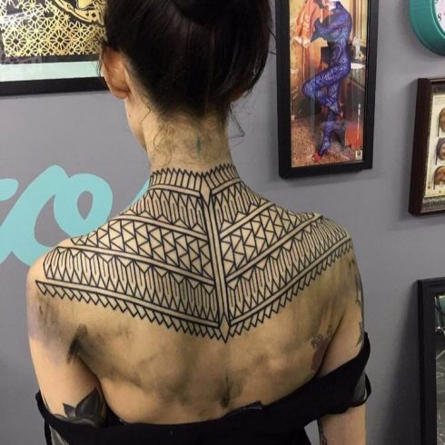 kieran williams blackwork back piece