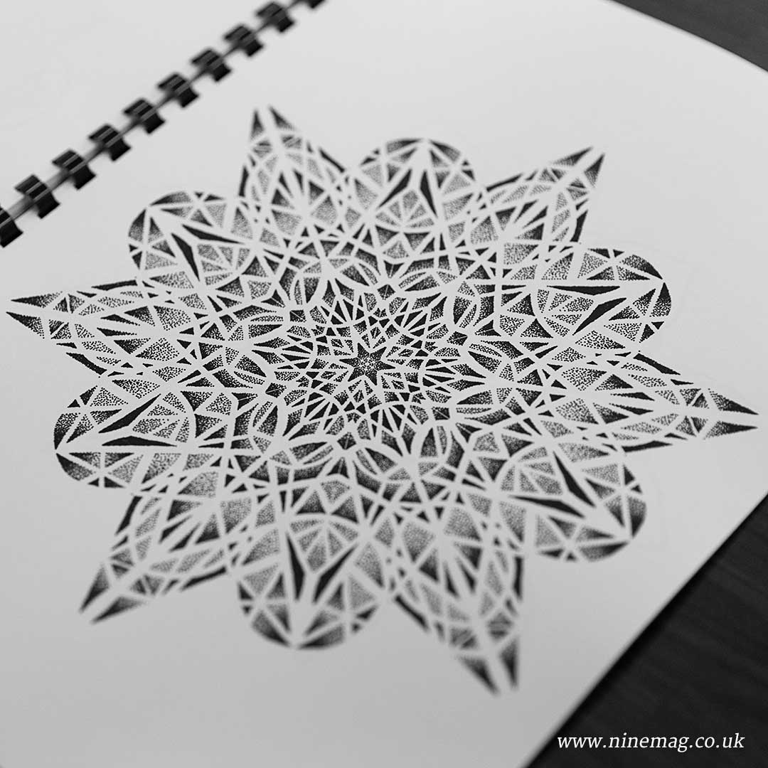 Book of Mandalas by Adam Woodfarm