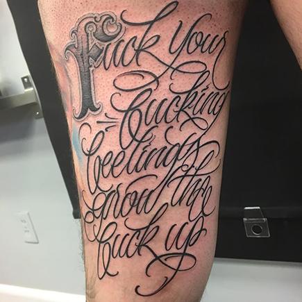 Leg script by big meas