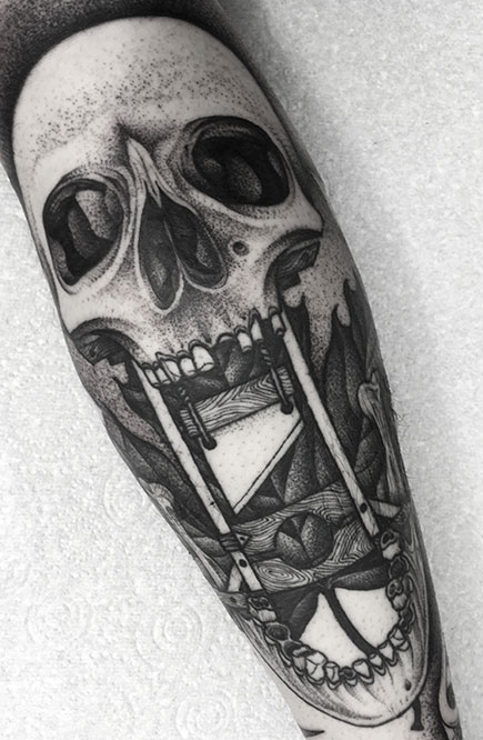 Skull by Kelly Violence